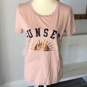J.Crew sunset t shirt